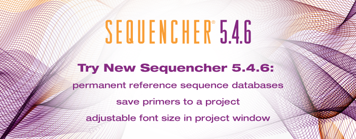 Sequencher Dna Sequence Analysis Software From Gene Codes Corporation